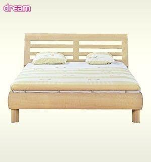 Dream łóżko 140 Black Red White Meble I Dodatki Do